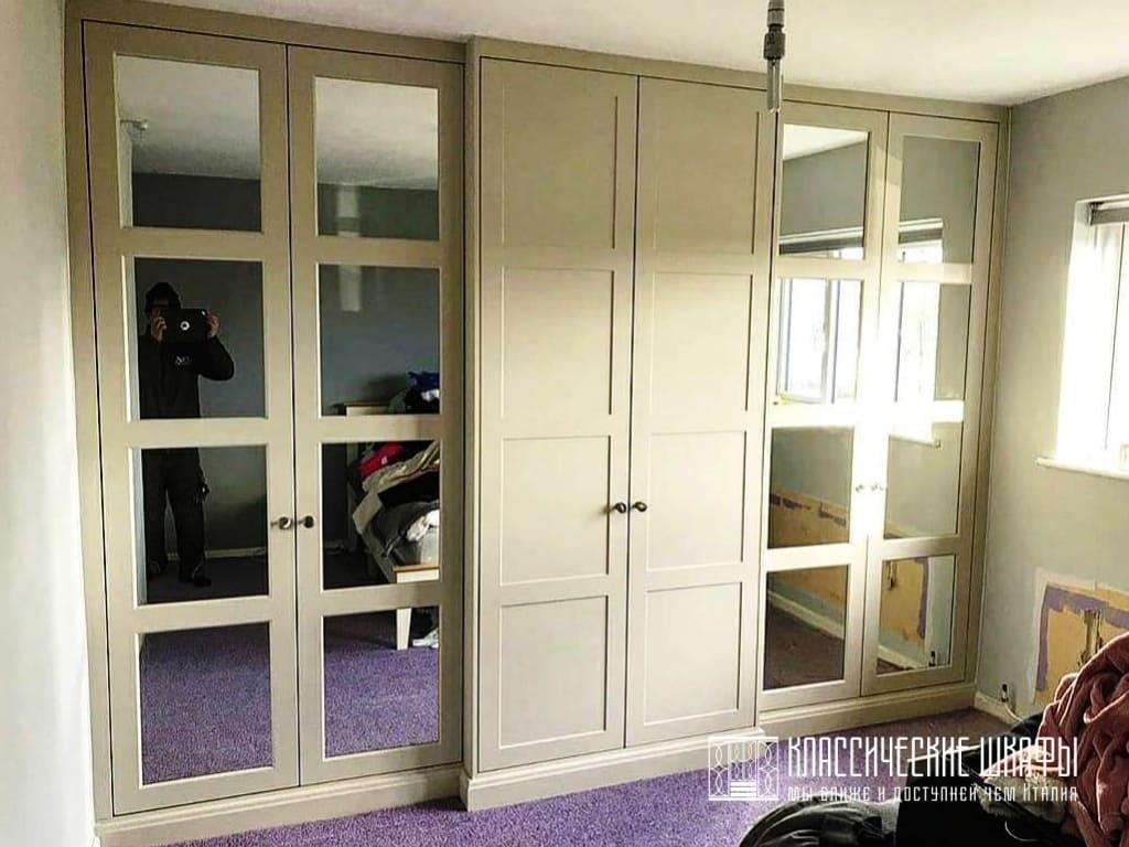 Классические шкафы на заказ в частном доме
