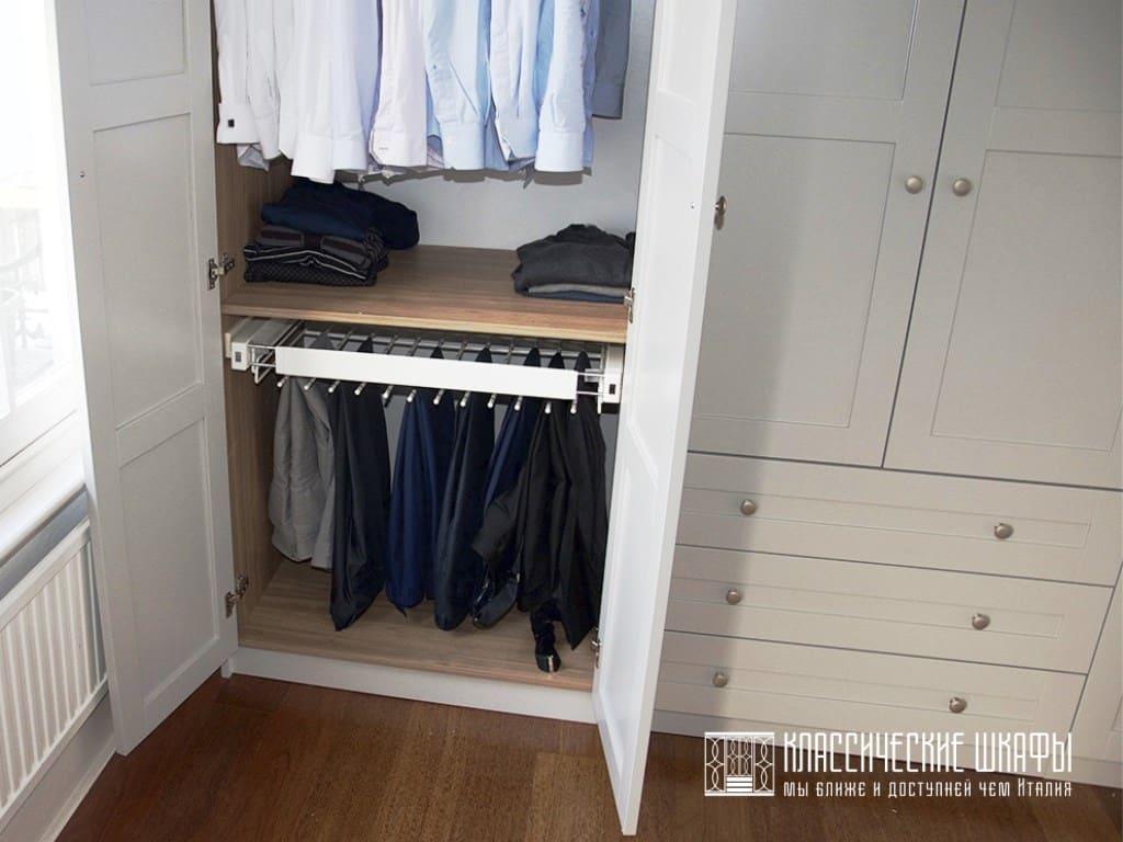 Шкаф на заказ в классическом стиле