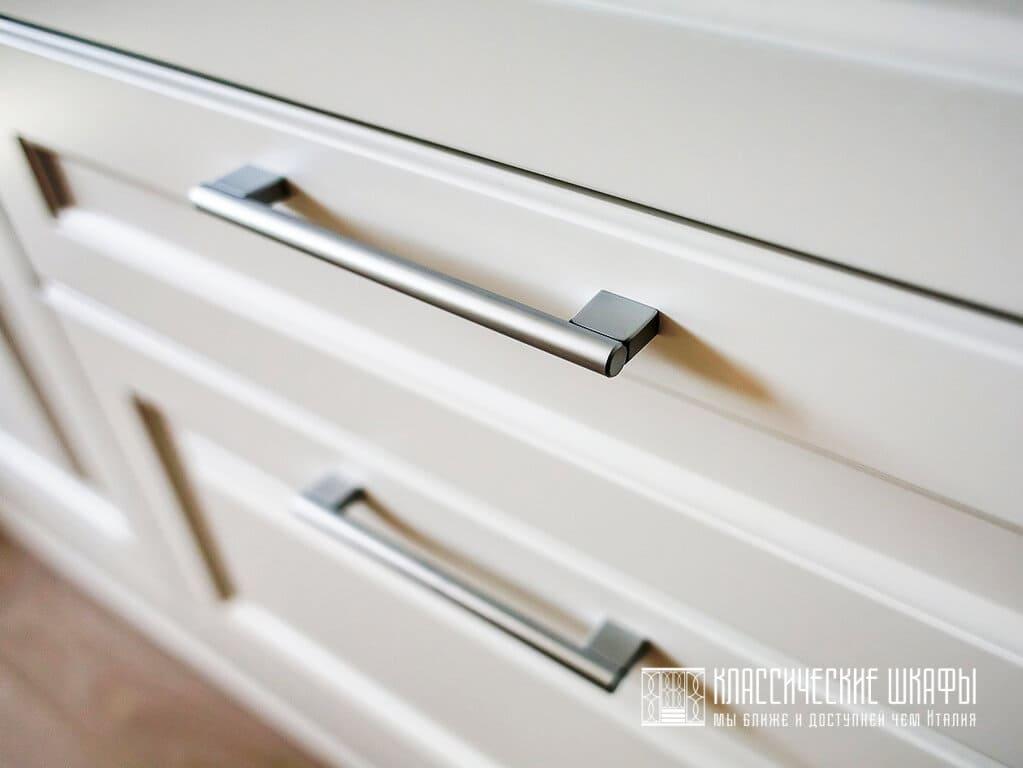 Встроенный шкаф МДФ эмаль классика